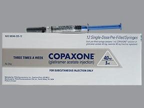 Copaxone 40 mg/mL subcutaneous syringe