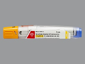 sumatriptan 4 mg/0.5 mL subcutaneous pen injector