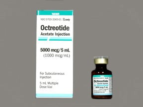octreotide acetate 1,000 mcg/mL injection solution