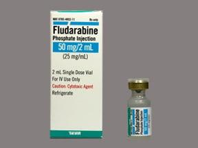 fludarabine 50 mg/2 mL intravenous solution