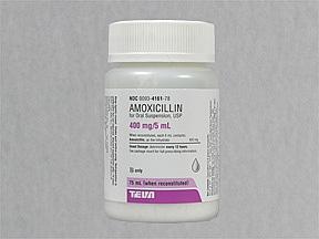 amoxicillin 400mg 5ml