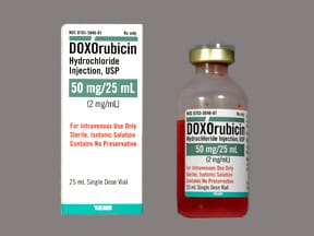 doxorubicin 50 mg/25 mL intravenous solution
