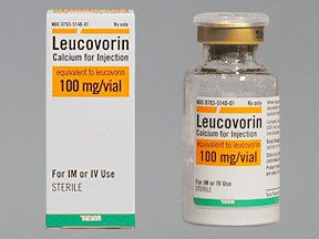 leucovorin calcium 100 mg solution for injection