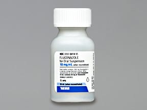 fluconazole 10 mg/mL oral suspension