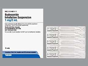 Budesonide Inhalation Suspension Dosage