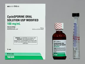 cyclosporine modified 100 mg/mL oral solution