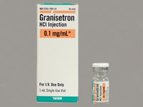 granisetron (PF) 100 mcg/mL (0.1 mg/mL) intravenous solution