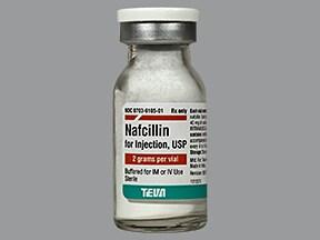 nafcillin 2 gram solution for injection
