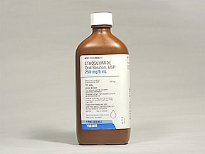 ethosuximide 250 mg/5 mL oral solution