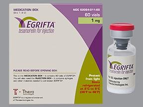 Egrifta 1 mg subcutaneous solution