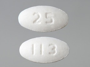 losartan 25 mg tablet