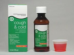 Cough and Cold 5 mg-10 mg-100 mg/5 mL oral liquid