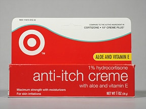 Anti-Itch (HC) with Aloe and Vitamin E 1 % topical cream