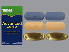 Advanced AM-PM 1,000 mg-800 unit-2.5 mg oral pack