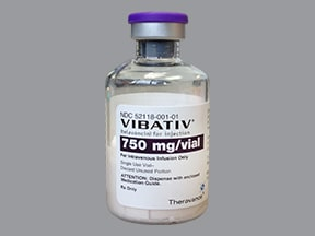 Vibativ 750 mg intravenous solution