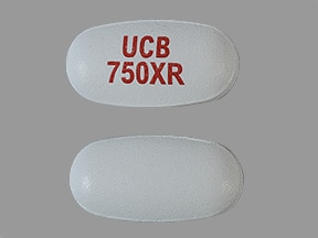 Keppra XR 750 mg tablet,extended release