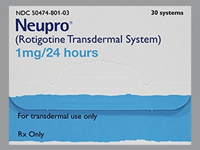 Neupro 1 mg/24 hour transdermal 24 hour patch