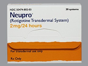 Neupro 2 mg/24 hour transdermal 24 hour patch
