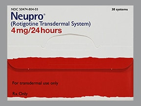 Neupro 4 mg/24 hour transdermal 24 hour patch