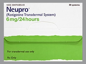 Neupro 6 mg/24 hour transdermal 24 hour patch