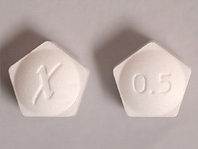 Xanax XR 0.5 mg tablet,extended release