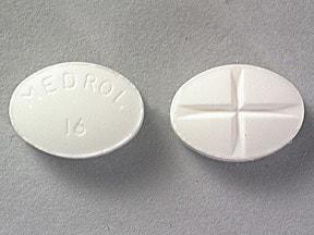 methylprednisolone 16 mg tablet