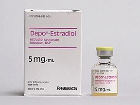 Depo-Estradiol 5 mg/mL intramuscular oil