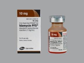 Idamycin PFS 1 mg/mL intravenous solution