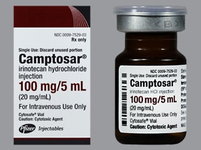 Camptosar 100 mg/5 mL intravenous solution