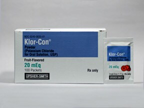 Klor-Con 20 mEq oral packet