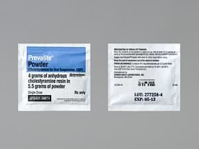 Prevalite 4 gram powder for susp in a packet