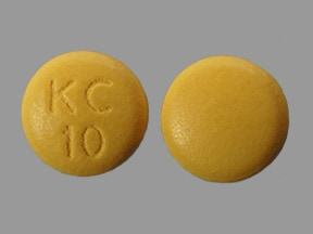 Klor-Con 10 mEq tablet,extended release