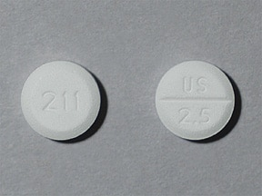 midodrine 2.5 mg tablet