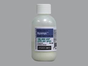 Nyamyc 100,000 unit/gram topical powder