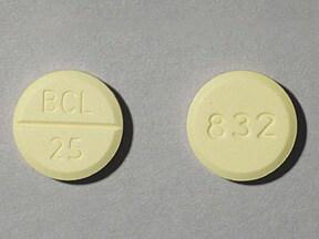 bethanechol chloride 25 mg tablet