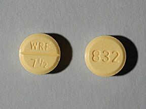 Jantoven 7.5 mg tablet