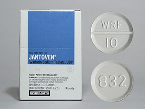 Jantoven 10 mg tablet