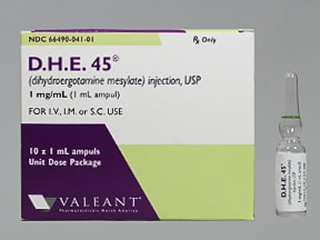 D.H.E.45 1 mg/mL injection solution