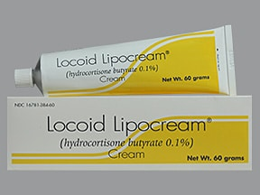 Locoid Lipocream 0.1 % topical