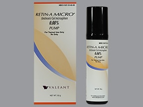 Retin-A Micro Pump 0.08 % topical gel