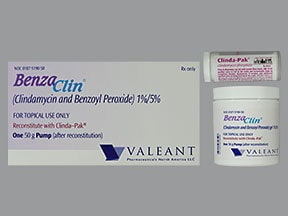 Benzaclin Pump 1 %-5 % topical gel