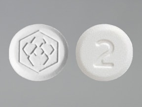 Fanapt 2 mg tablet