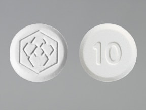Fanapt 10 mg tablet