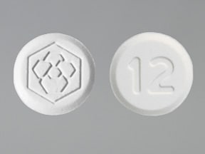 Fanapt 12 mg tablet