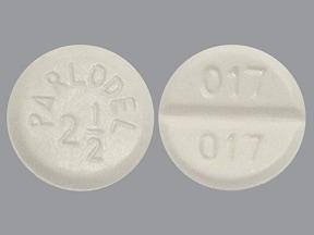 Parlodel 2.5 mg tablet