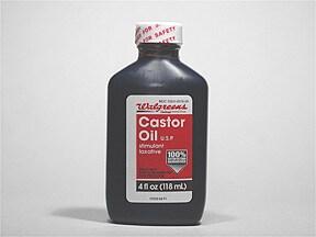 castor oil oral