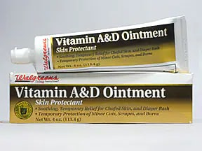 vitamin A and D topical ointment