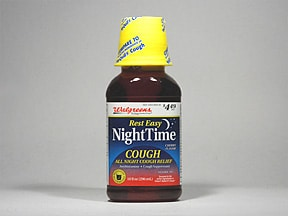 NightTime Cough 6.25 mg-15 mg/15 mL oral solution