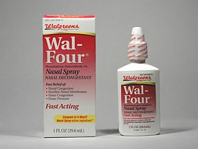 Wal-Four 1 % nasal spray