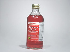 magnesium citrate oral solution